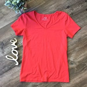 M by Magaschoni Coral V Neck T Shirt